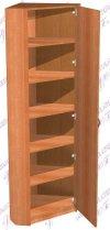 Шкаф угловой с полками (ш600в2100г600)